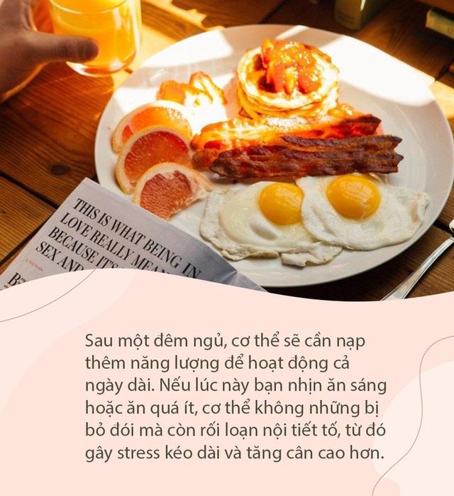 Ăn sáng theo 5 cách này chẳng khác nào tự hại bản thân, chưa kể còn sinh bệnh và làm phụ nữ béo phì, xuống sắc - Ảnh 4.