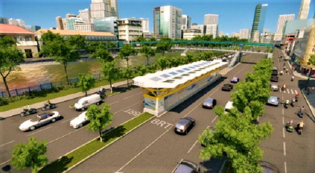 Con đường đầu tiên làm tuyến xe buýt BRT trị giá gần 3.300 tỷ đồng tại TP.HCM - Ảnh 2.