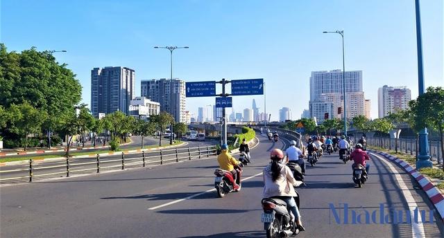 Con đường đầu tiên làm tuyến xe buýt BRT trị giá gần 3.300 tỷ đồng tại TP.HCM - Ảnh 11.