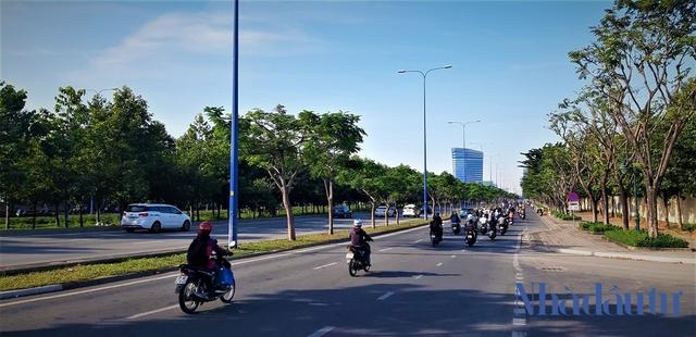Con đường đầu tiên làm tuyến xe buýt BRT trị giá gần 3.300 tỷ đồng tại TP.HCM - Ảnh 10.