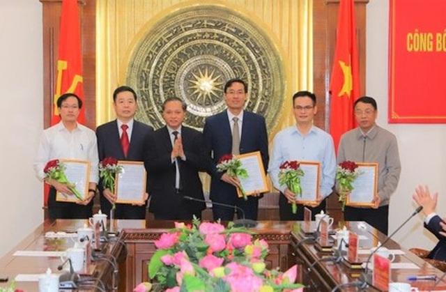 Thanh Hóa điều động, bổ nhiệm 11 lãnh đạo thuộc Ban thường vụ Tỉnh ủy quản lý  - Ảnh 2.