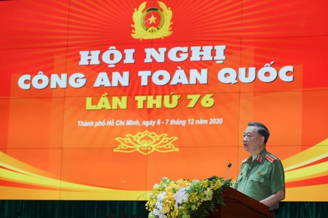 Chùm ảnh: Thủ tướng dự và phát biểu chỉ đạo Hội nghị Công an toàn quốc - Ảnh 8.