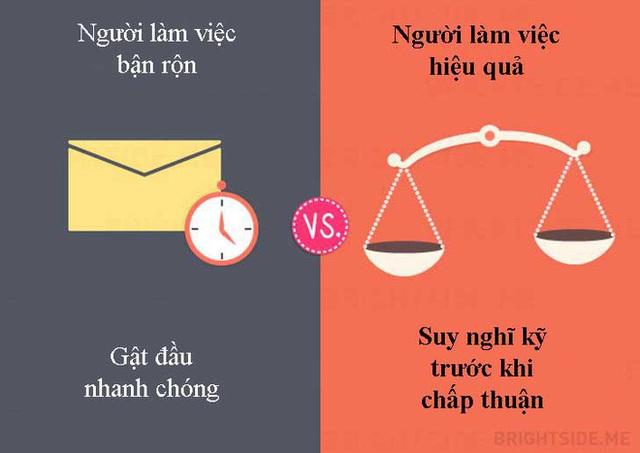 Tư duy khác biệt giữa người làm việc bận rộn và người làm việc hiệu quả: Ai thành đạt? - Ảnh 1.