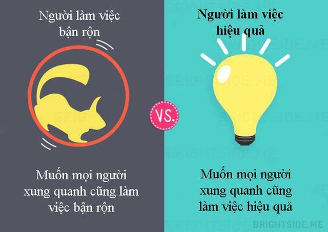 Tư duy khác biệt giữa người làm việc bận rộn và người làm việc hiệu quả: Ai thành đạt? - Ảnh 7.