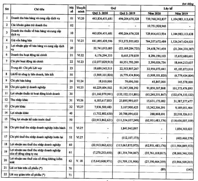 PVX: Quý 2 giảm lỗ xuống còn 23 tỷ đồng - Ảnh 1.