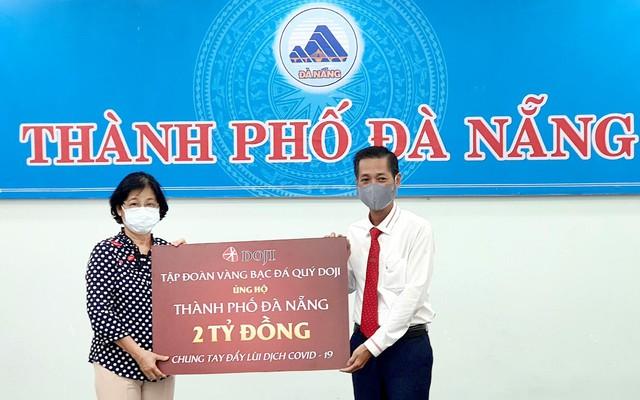 Hai doanh nghiệp của ông Đỗ Minh Phú ủng hộ Đà Nẵng 4 tỷ đồng - Ảnh 2.