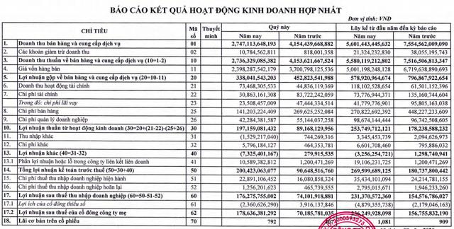 Thuỷ sản Minh Phú (MPC): Lợi nhuận sau thuế nửa đầu năm đạt 236 tỷ, thực hiện chỉ mới 25% chỉ tiêu 2020 - Ảnh 1.