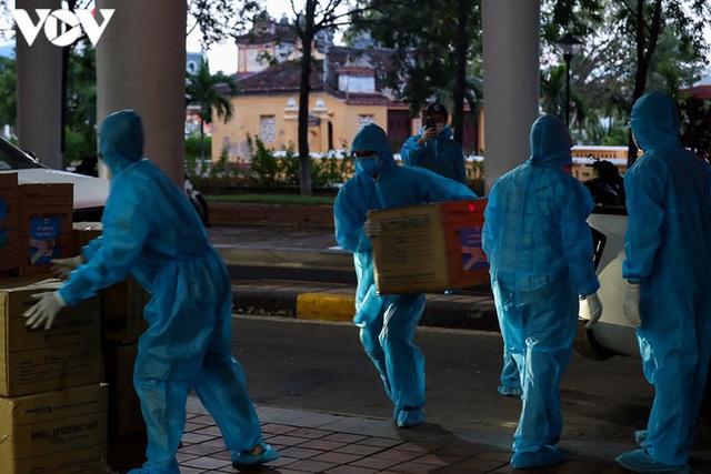 Ảnh: Toàn cảnh Bệnh viện dã chiến Tiên Sơn trước giờ kích hoạt - Ảnh 12.