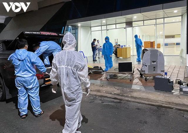 Ảnh: Toàn cảnh Bệnh viện dã chiến Tiên Sơn trước giờ kích hoạt - Ảnh 16.