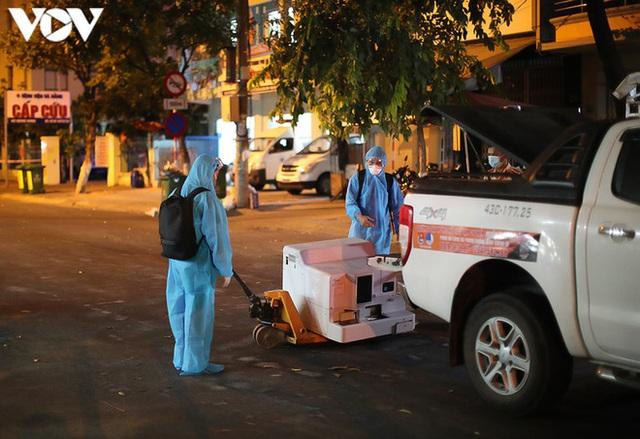 Ảnh: Toàn cảnh Bệnh viện dã chiến Tiên Sơn trước giờ kích hoạt - Ảnh 17.