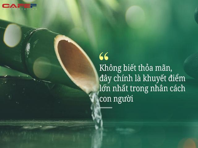 Không biết thỏa mãn chính là khuyết điểm lớn nhất của con người: Người khôn ngoan duy trì 3 điều tiết chế này, cả đời sống thảnh thơi, khỏe mạnh - Ảnh 3.