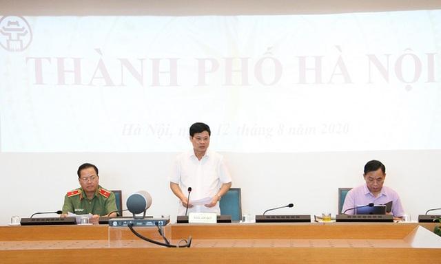 Phó Chủ tịch Hà Nội: Ca mắc Covid-19 mới ở Hà Nội không có yếu tố Đà Nẵng, chưa rõ nguồn lây - Ảnh 1.