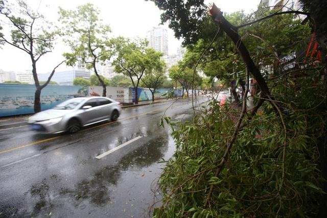 Cơn bão nóng tính tập kích TQ: Xé rách nhà xưởng, bẻ gãy đèn giao thông, quật ngã cảnh sát trực chiến - Ảnh 3.