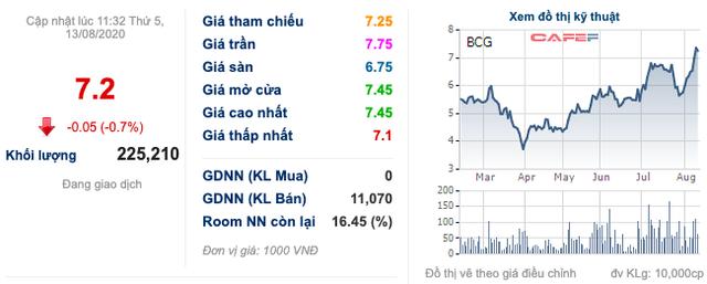 Bamboo Capital (BCG): Thị giá liên tục phá đỉnh, cơ cấu cổ đông biến động mạnh - Ảnh 1.