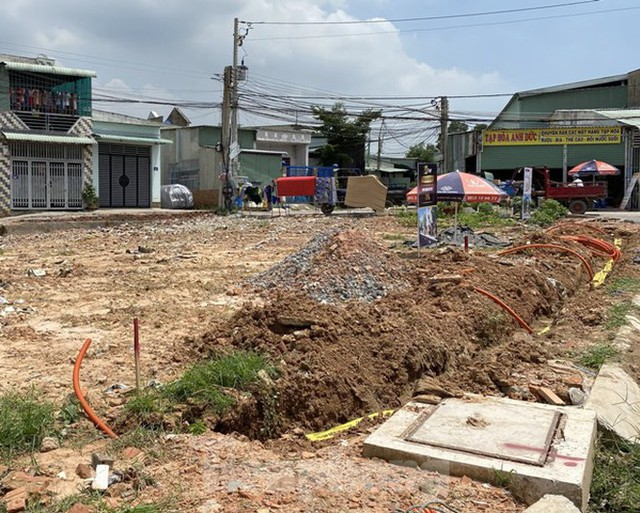 Bình Dương xử lý hai chủ đầu tư khu dân cư xây dựng trái phép - Ảnh 4.