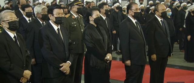 Lễ truy điệu và an táng Nguyên Tổng Bí thư Lê Khả Phiêu - Ảnh 56.