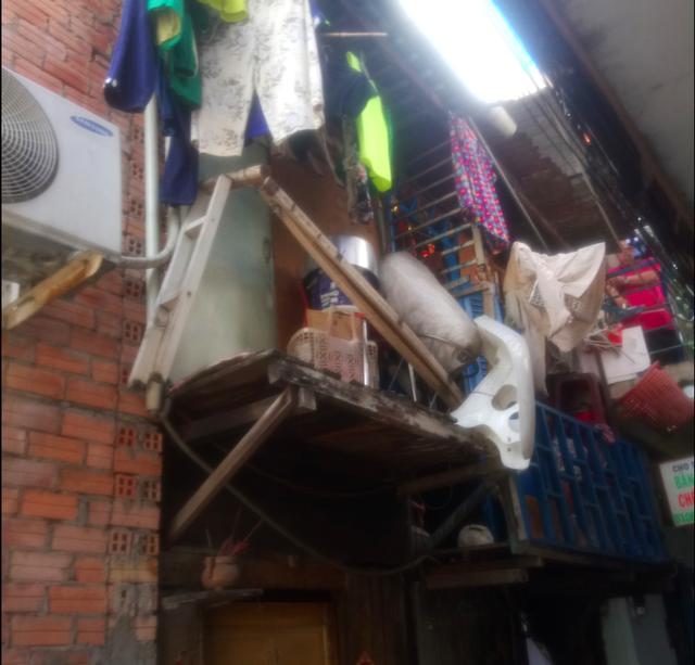 Khu nhà ổ chuột độc nhất tại trung tâm Sài Gòn - Ảnh 11.