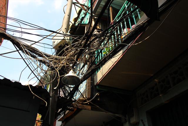 Khu nhà ổ chuột độc nhất tại trung tâm Sài Gòn - Ảnh 6.