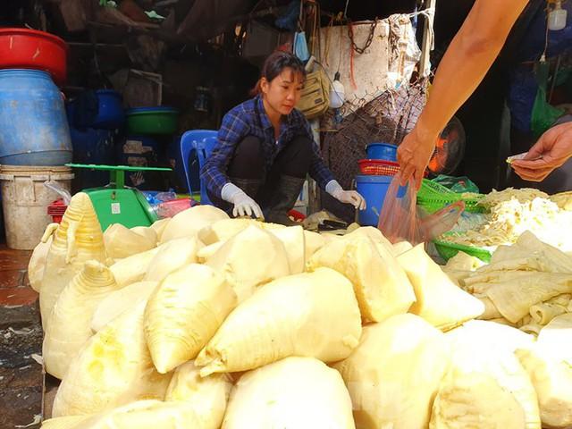 Măng rừng vào mùa tươi ngon, ngập tràn chợ Hà Nội - Ảnh 6.