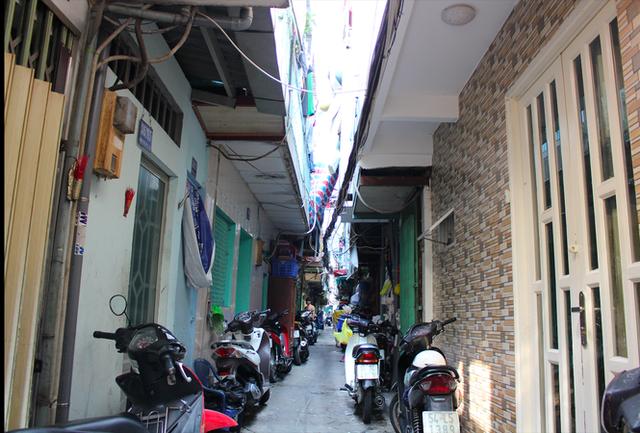 Khu nhà ổ chuột độc nhất tại trung tâm Sài Gòn - Ảnh 9.