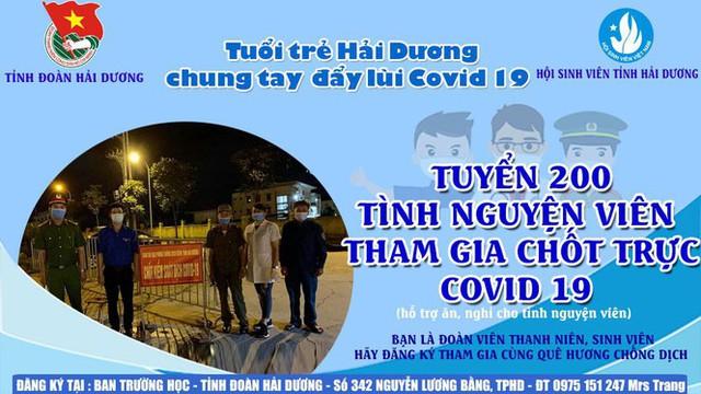 Thành phố Hải Dương vắng lặng ngày đầu giãn cách toàn xã hội - Ảnh 10.
