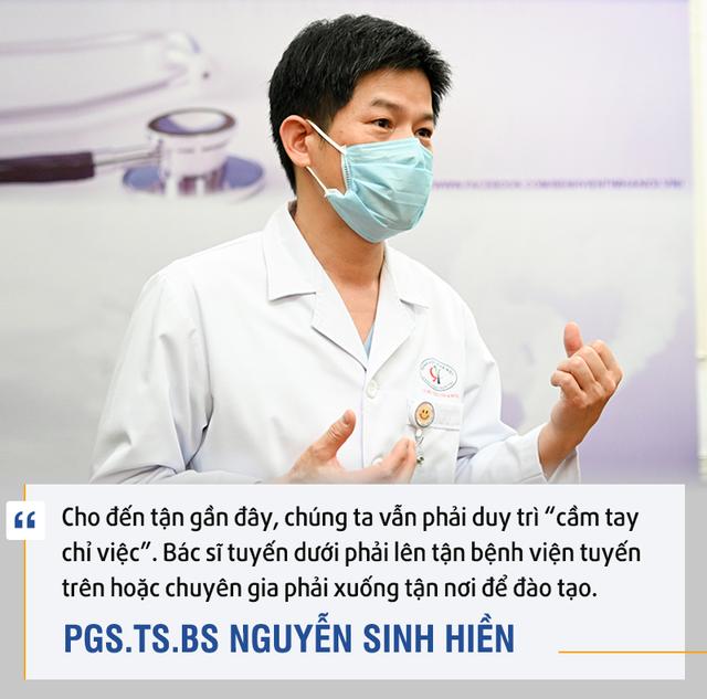 PGS.TS.BS. Nguyễn Sinh Hiền: Telehealth là cuộc cách mạng - Ảnh 2.