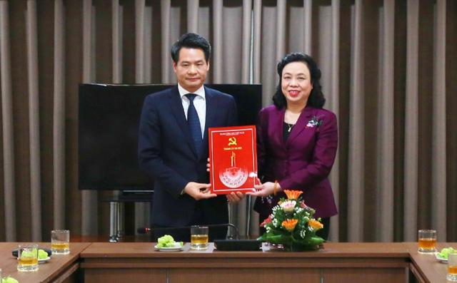 Bí thư Hoài Đức được bổ nhiệm làm Trưởng Ban Nội chính thành ủy Hà Nội - Ảnh 1.