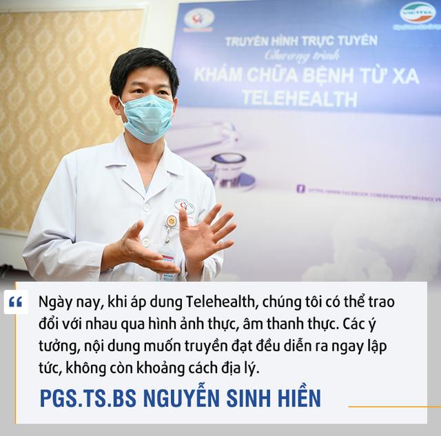 PGS.TS.BS. Nguyễn Sinh Hiền: Telehealth là cuộc cách mạng - Ảnh 4.