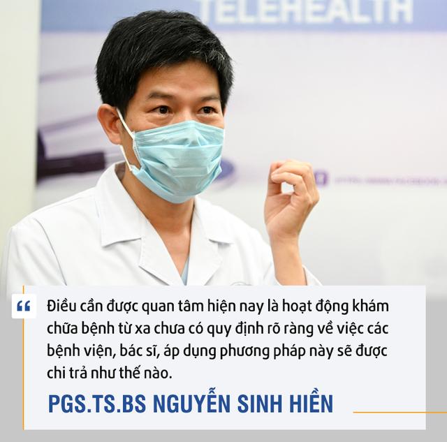 PGS.TS.BS. Nguyễn Sinh Hiền: Telehealth là cuộc cách mạng - Ảnh 5.