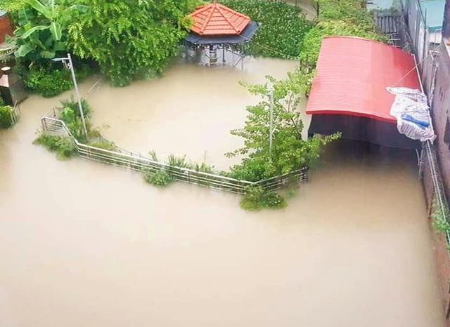 Hạ Long lại thất thủ sau mưa lớn: Sát biển sao đường phố vẫn chìm sâu trong nước? - Ảnh 8.