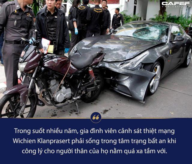 Tông xe chết cảnh sát nhưng vẫn nhởn nhơ ngoài vòng pháp luật, thiếu gia nhà Red Bull khiến người Thái phẫn nộ - Ảnh 2.