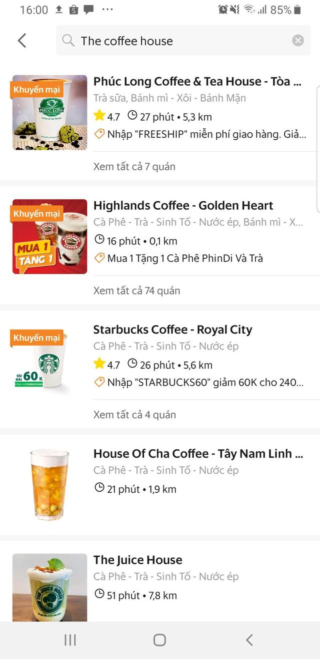 Vì đâu The Coffee House quyết không bán hàng trên GrabFood như Phúc Long, Starbucks, nhưng lại xuất hiện trên app MoMo, LoShip?  - Ảnh 2.