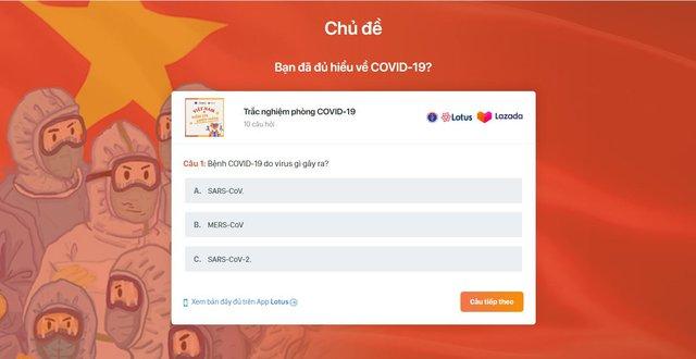 Bộ Y tế phát động mini game trên Mạng xã hội Lotus: ĐẨY LÙI COVID-19, RINH QUÀ MÊ TÍT - Ảnh 2.