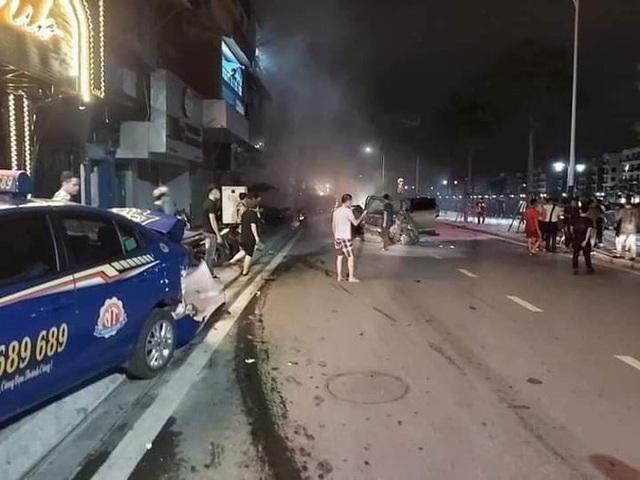 Tài xế xe Lexus gây tai nạn liên hoàn làm nữ công an phường tử vong có nồng độ cồn 0,593 mg/l - Ảnh 1.