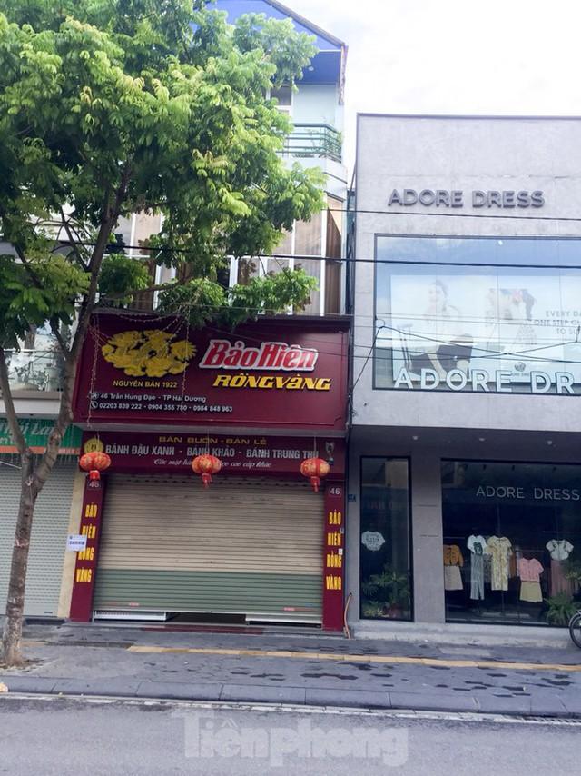 Thủ phủ bánh đậu xanh Hải Dương cửa đóng then cài vì dịch COVID 19 - Ảnh 3.