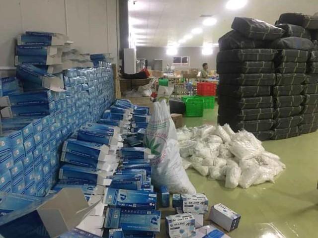 Phát hiện nhà xưởng 2.000m2 dùng để đóng găng tay tái chế tại khu Công nghiệp Lương Sơn - Ảnh 4.