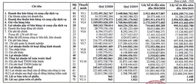 Habeco (BHN): Quý 2 lãi 246 tỷ đồng tăng nhẹ so với cùng kỳ - Ảnh 1.
