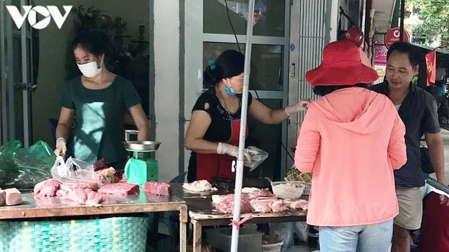Thịt lợn bắt đầu giảm chứ không còn là giá trên ti vi - Ảnh 1.