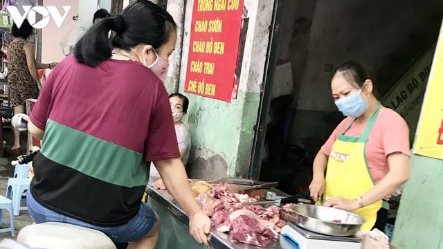 Thịt lợn bắt đầu giảm chứ không còn là giá trên ti vi - Ảnh 3.