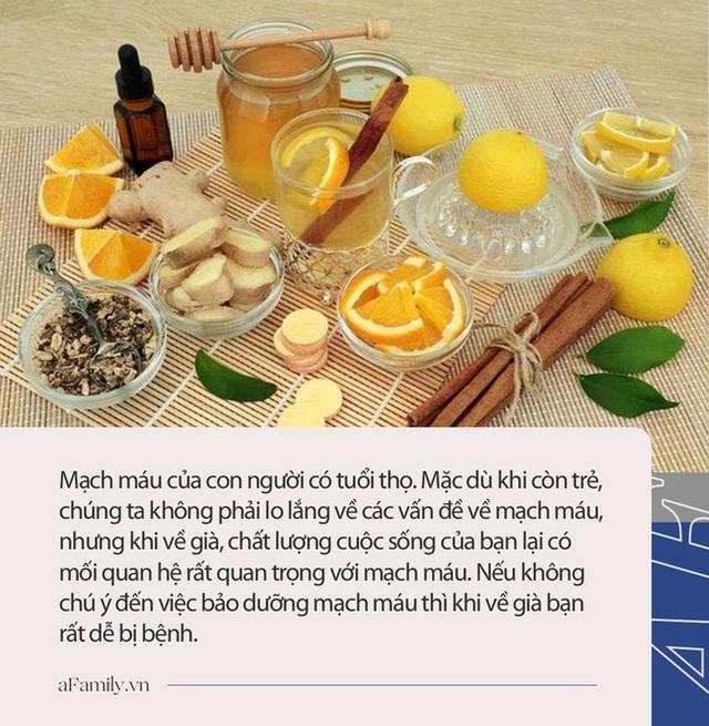 Mạch máu không khỏe thì các cơ quan quan trọng của cơ thể sẽ ngừng hoạt động, 3 loại trà có lợi cho mạch máu dân văn phòng nên uống 1 cốc mỗi ngày - Ảnh 5.