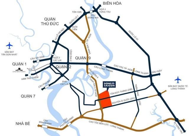 Soi quy hoạch hạ tầng giao thông khủng của Thành phố Thủ Đức trong tương lai - Ảnh 1.