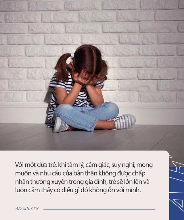 Có đứa trẻ sống trong gia đình nhìn rất đỗi êm đềm nhưng lớn lên lại bị rối loạn nhân cách, nguyên nhân nằm ở những lời nói như này của cha mẹ - Ảnh 2.