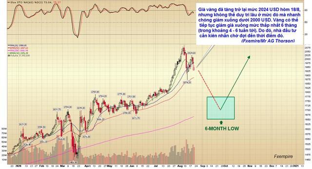 Tháng 9 và 10 tới là cơ hội để nhà đầu tư mua vàng trước khi giá tăng trở lại? - Ảnh 1.