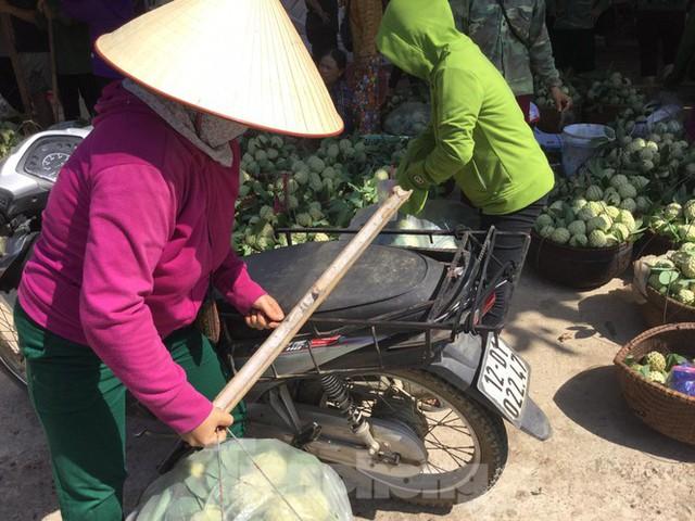 Lạng Sơn: Chợ na lớn nhất nước vào mùa - Ảnh 1.