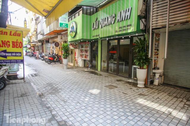 Cải tạo vỉa hè phố ẩm thực không ngủ ở Hà Nội - Ảnh 8.