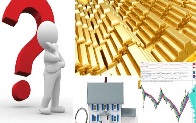 Trong vòng xoáy bất định, đầu tư vàng, chứng khoán hay bất động sản? - Ảnh 1.