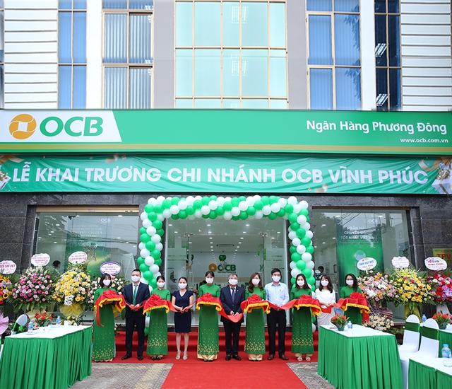 OCB vừa mở thêm 2 chi nhánh mới tại Bình Định và Vĩnh Phúc - Ảnh 2.