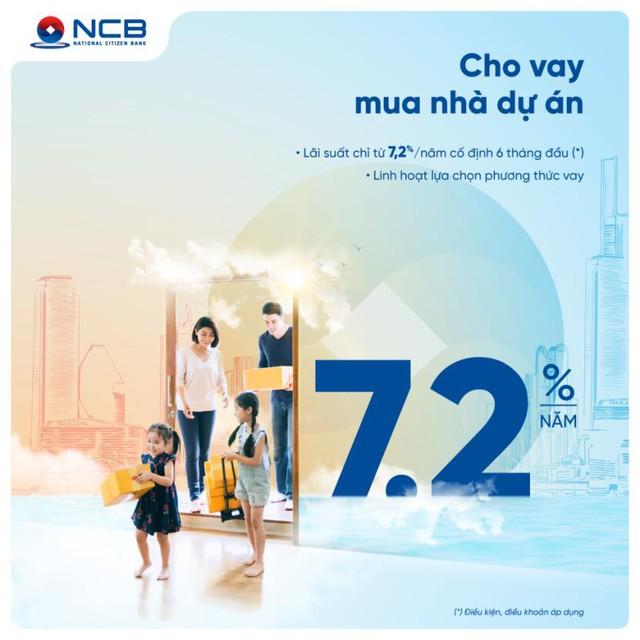 NCB dành 2.000 tỷ đồng cho khách hàng cá nhân vay mua, sửa chữa nhà  - Ảnh 1.
