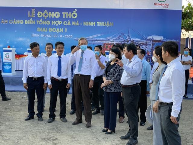 Xây dựng Cảng biển Cà Ná 1.463 tỉ đồng - Ảnh 2.