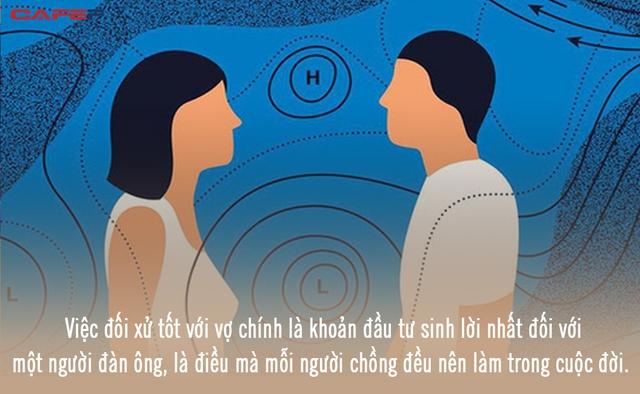 Đàn ông muốn có được vợ dịu hiền trước tiên hãy là người chồng biết thương yêu: Đối xử tốt với vợ chính là khoản đầu tư sinh lời nhất đời người - Ảnh 1.